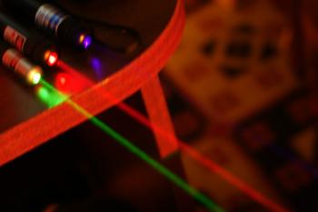Зеленый лазер