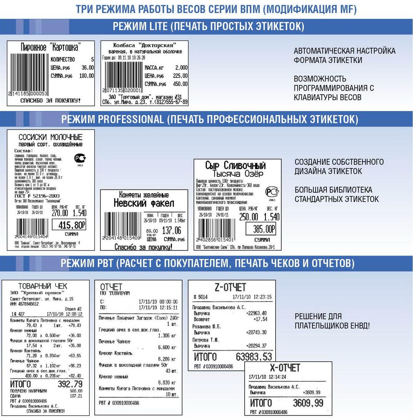 виды печати этикеток Масса-К ВПМ-Т1
