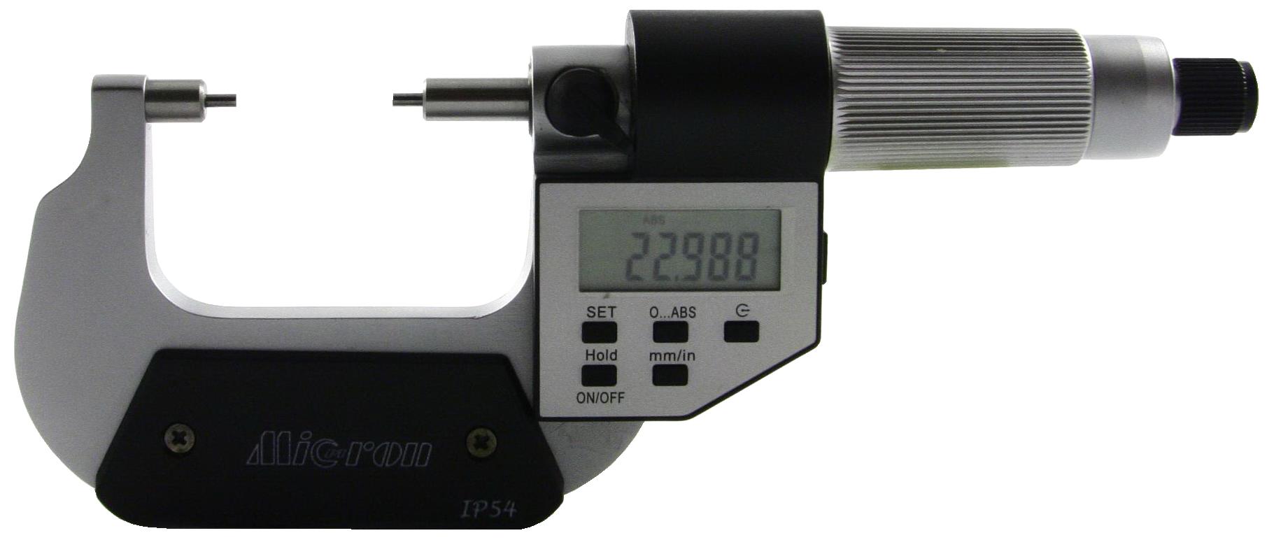 МКЦ-МП Микрометр с малыми измерительными губками