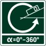 Измерение угла наклона (уклона)