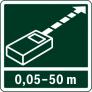 Измерение до 50м