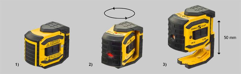 Пятиточечный лазерный прибор LA-5P