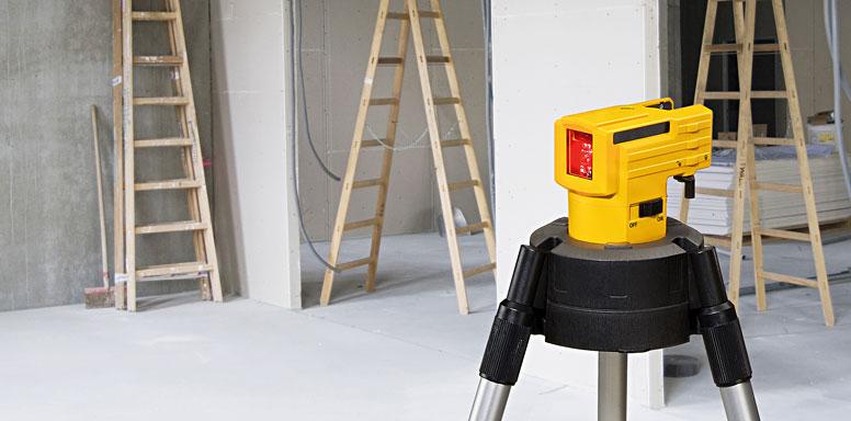 Построитель плоскостей-лазерный прибор STABILA LAX 50